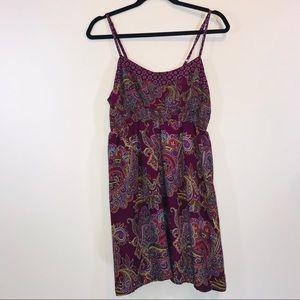 Xhilaration Boho Spaghetti Strap Dress - #1384